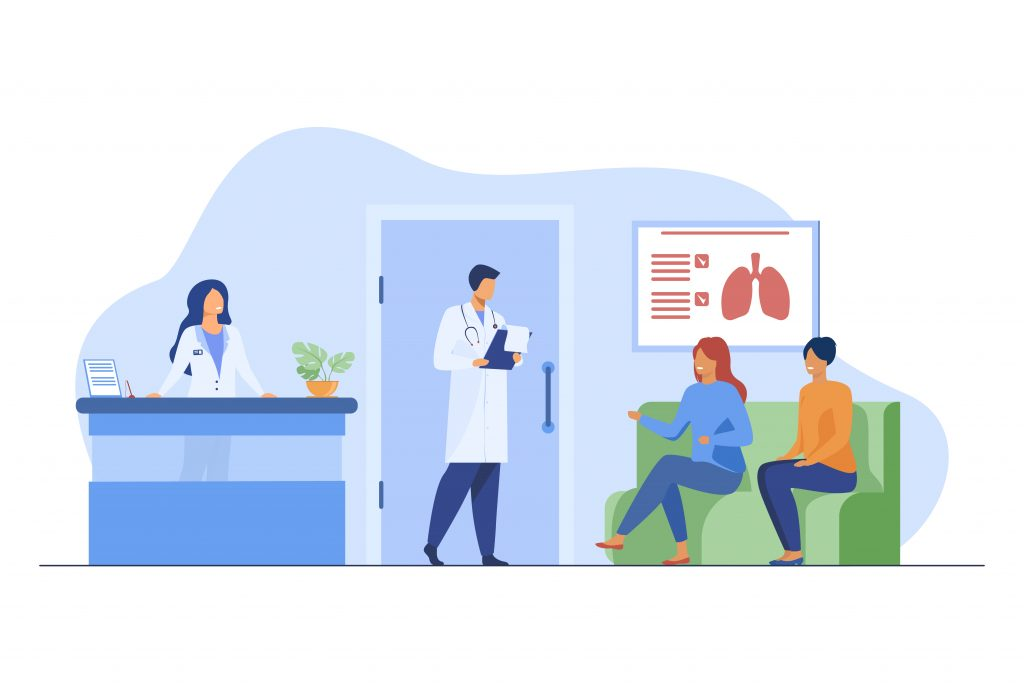 Why Your Medical Secretary Needs EMR Software Medical Secretary at the Reception Front Desk