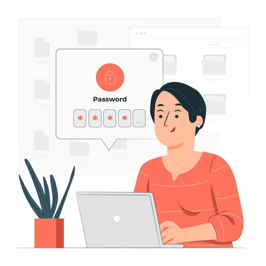 Importance of Data Security in Patient Tracking Systems Laptop Password Lock