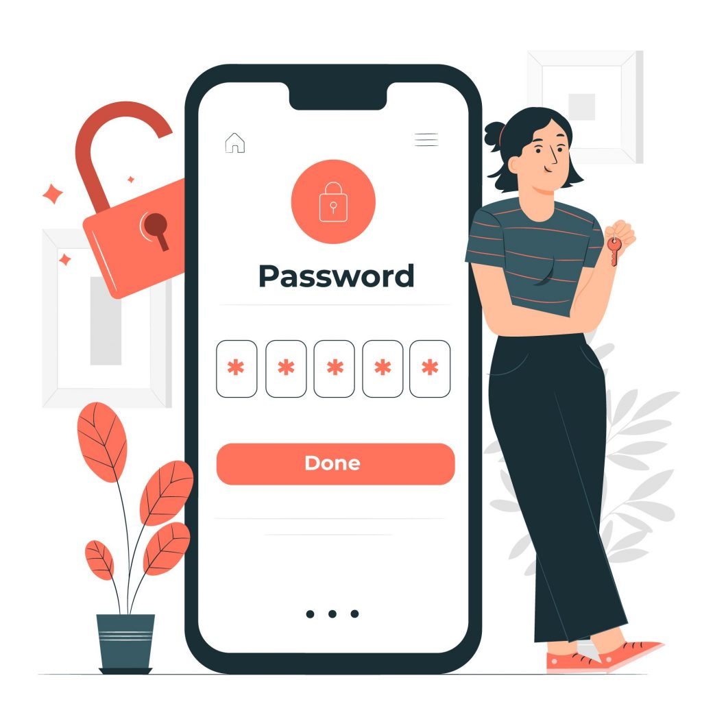 Importance of Data Security in Patient Tracking Systems Phone Password Lock