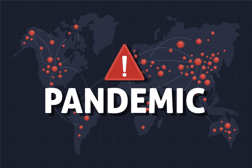 The Importance of Medical Hotspots in EMR Software Pandemic Warning on Map